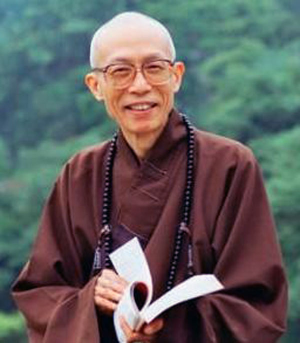 Sheng Yan master: the best way to resolve the hatreds heart